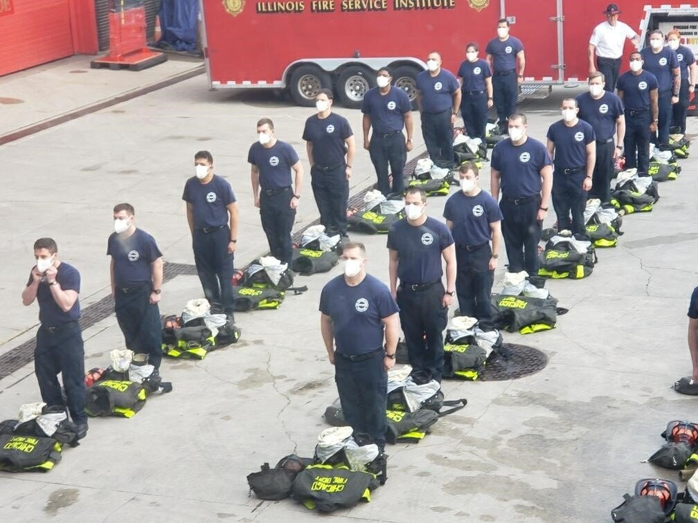 Candidate firefighters1
