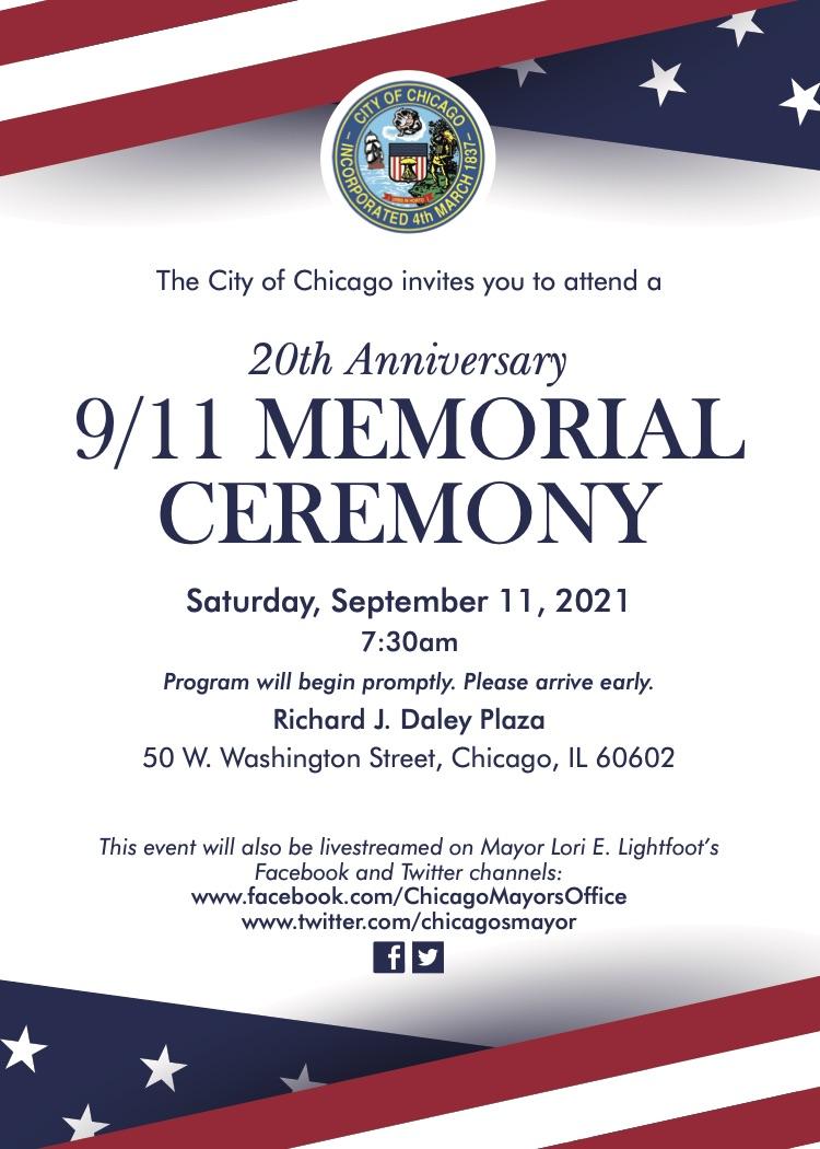 September 11 2021 Ceremony E Invitation CFD CPD